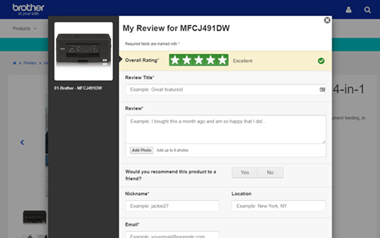 Review-Screen