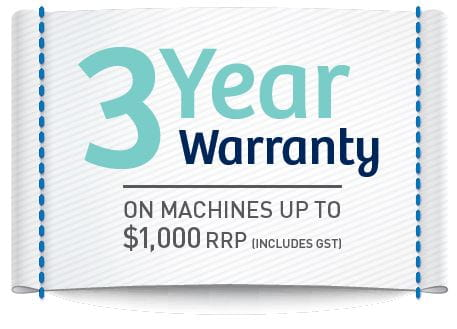 3-year warranty sewing and craft - machines under 1000