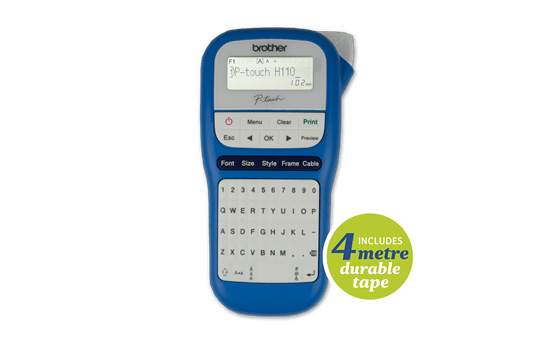 PTH110BW Compact Handheld Labelling Machine