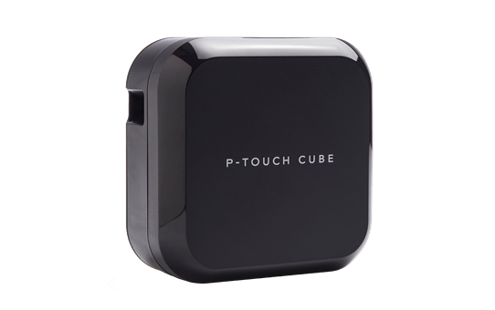 P-touch Cube Mobile Label Maker - PTP710BT 2