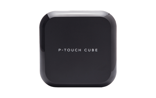 P-touch Cube Mobile Label Maker - PTP710BT