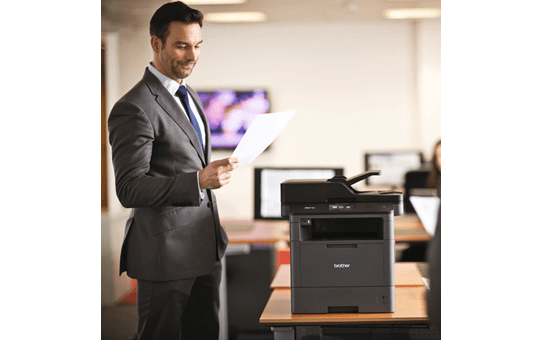 MFCL5755DWAll-in-one Mono Laser Printer 4