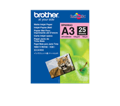 Genuine Brother BP60MA3 Matte A4 Inkjet Paper