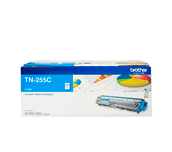 TN255C cyan high yield toner (2,200 pages) for Brother laser printer